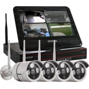 پک چهار دوربین LCDدار وایرلس مدل Xens