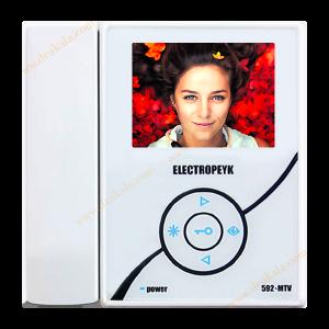 آیفون تصویری چهار اینچ الکتروپیک مدل 592-MTV