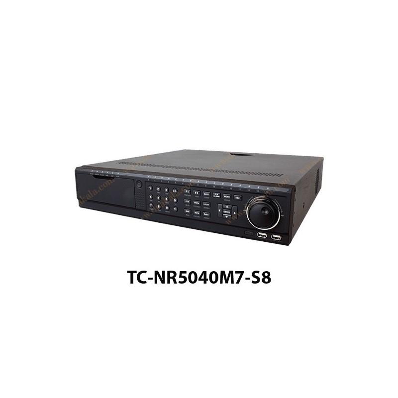دستگاه NVR تیاندی 40 کانال مدل TC-NR5040M7-S8