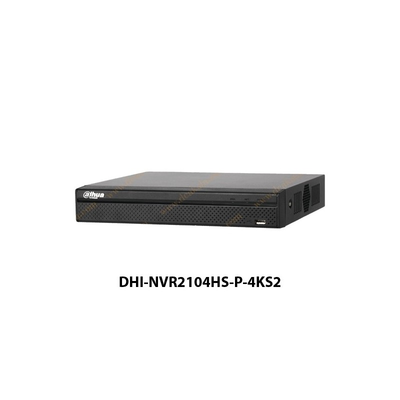 NVR داهوا 4 کانال مدل DHI-NVR2104HS-P-4KS2