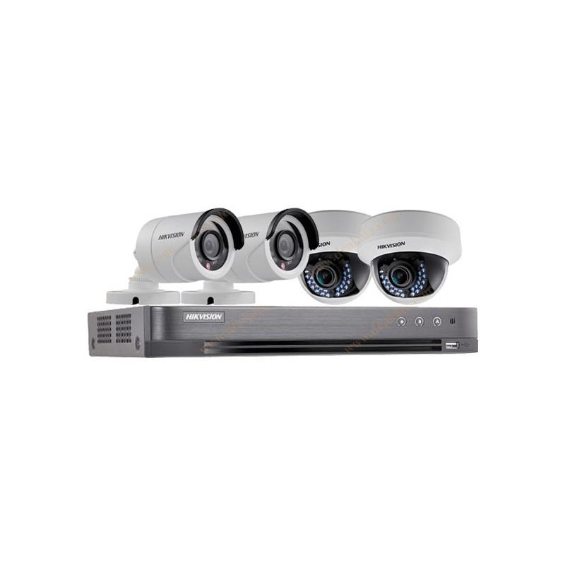 پک 4 دوربین Turbo HD هایک ویژن