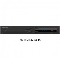 NVR ویدئو پارک 24 کانال مدل ZN-NVR3224-JS