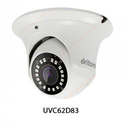 دوربین مداربسته AHD برایتون 8 مگاپیکسل مدل UVC62D83
