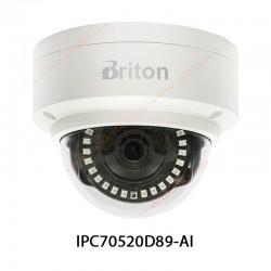 دوربین مدار بسته تحت شبکه برایتون 2 مگاپیکسل مدل IPC70520D89-AI