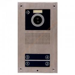 پنل آیفون تصویری اف اف تکنولوژی 2UT - چهار واحدی