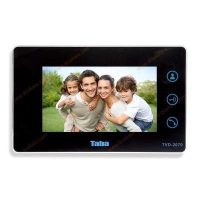 آیفون تصویری تابا مدل TVD-2070 بدون ماژول تلفن