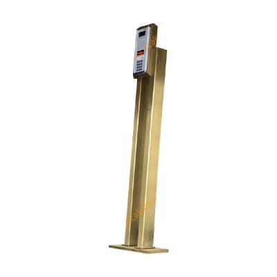 پایه آیفون تصویری رنگ استیل طلایی 5102