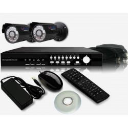 پک دو دوربین بولت همراه DVR و متعلقات - اقساطی