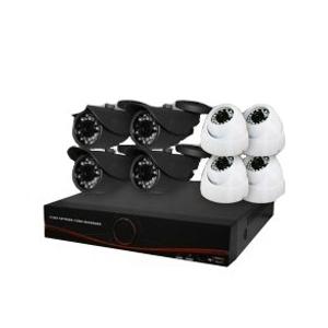 پکیج 8 دوربین مداربسته (دی وی آر + دوربین  و متعلقات)