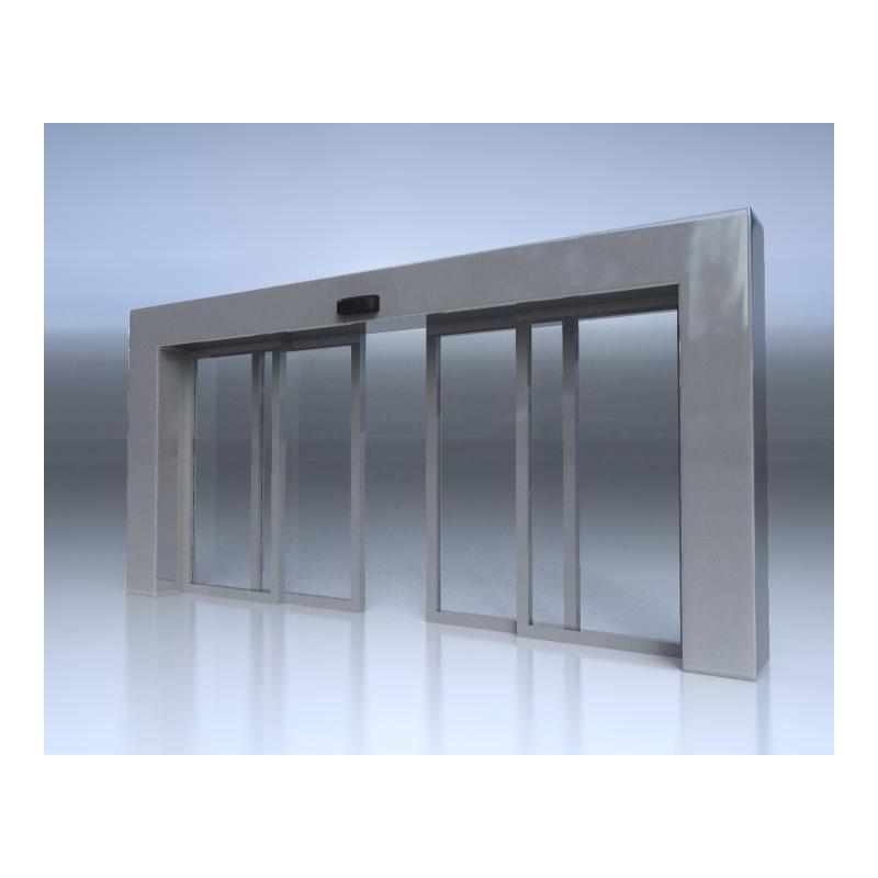 درب اتوماتیک شیشه ای کشویی