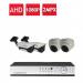 پکیج 4عدد دوربین 2مگاپیکسلی AHD+ دی وی آر+متعلقات