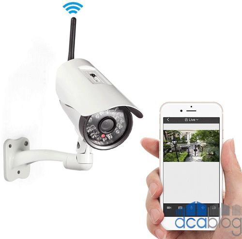 اتصال دوربین مداربسته به موبایل