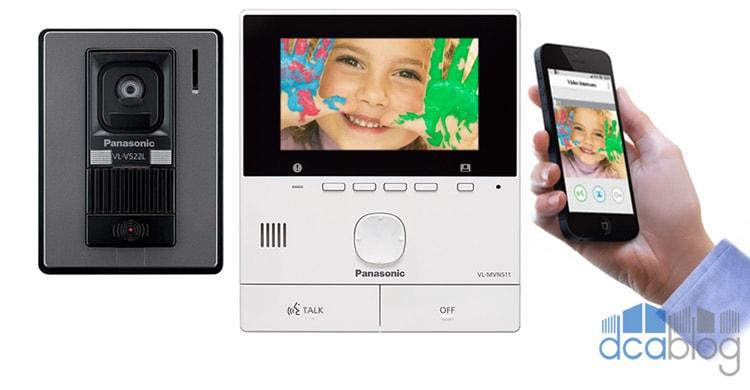 آیفون تصویری SVN511 پاناسونیک؛ با امکان اتصال به گوشی موبایل