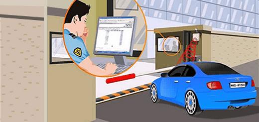 سیستم کنترل تردد خودرویی