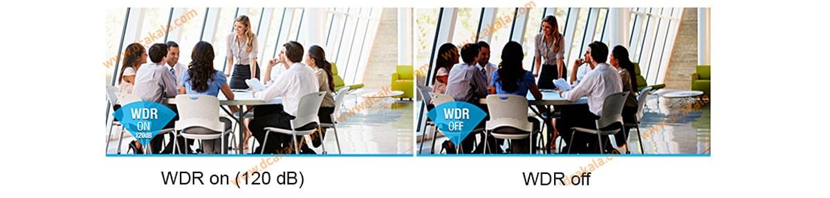 تاثیر WDR بر تصویر