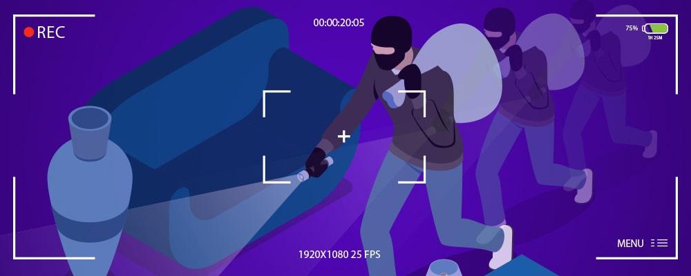 ذخيره فيلم در صورت استفاده از تشخيص حركت در دوربين مدار بسته
