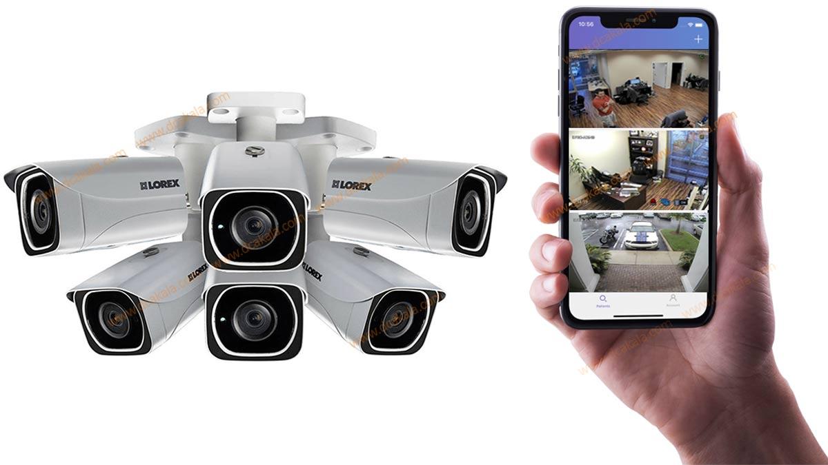 دریافت تصاویر دوربین مداربسته بر روی موبایل