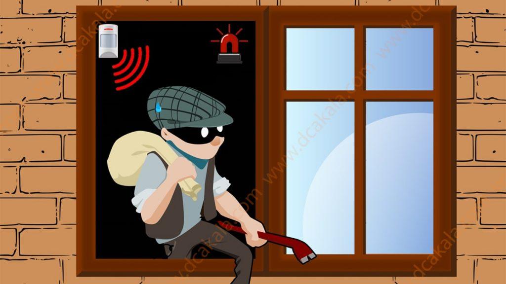 دزدگیر اماکن یا دوربین مداربسته