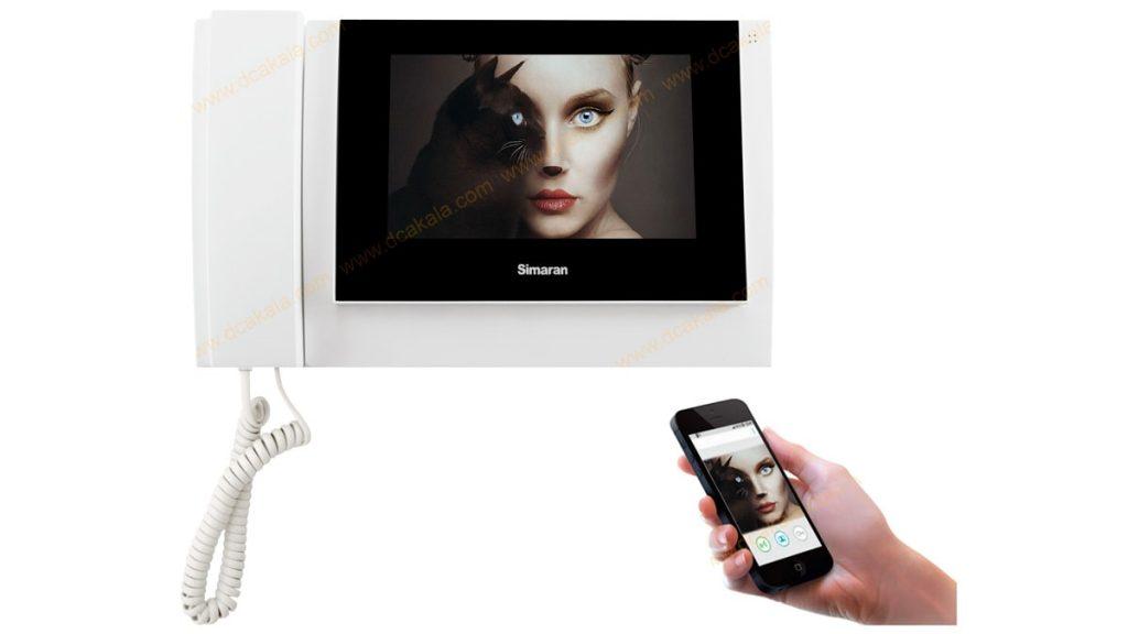 آیفون تصویری با قابلیت اتصال به موبایل