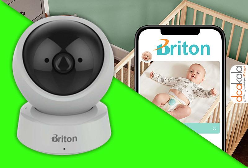 دوربین مدار بسته برایتون وایرلس برای کنترل کودک