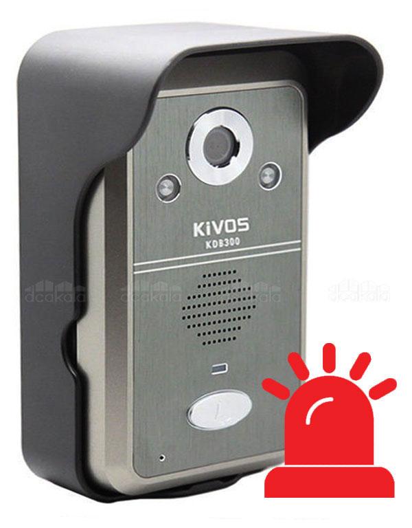 آیفون تصویری بیسیم کیووس مدل KDB300