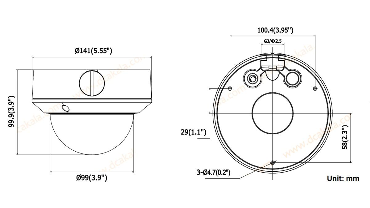 دوربین مداربسته IP هایک ویژن مدل DS-2CD2720F-I