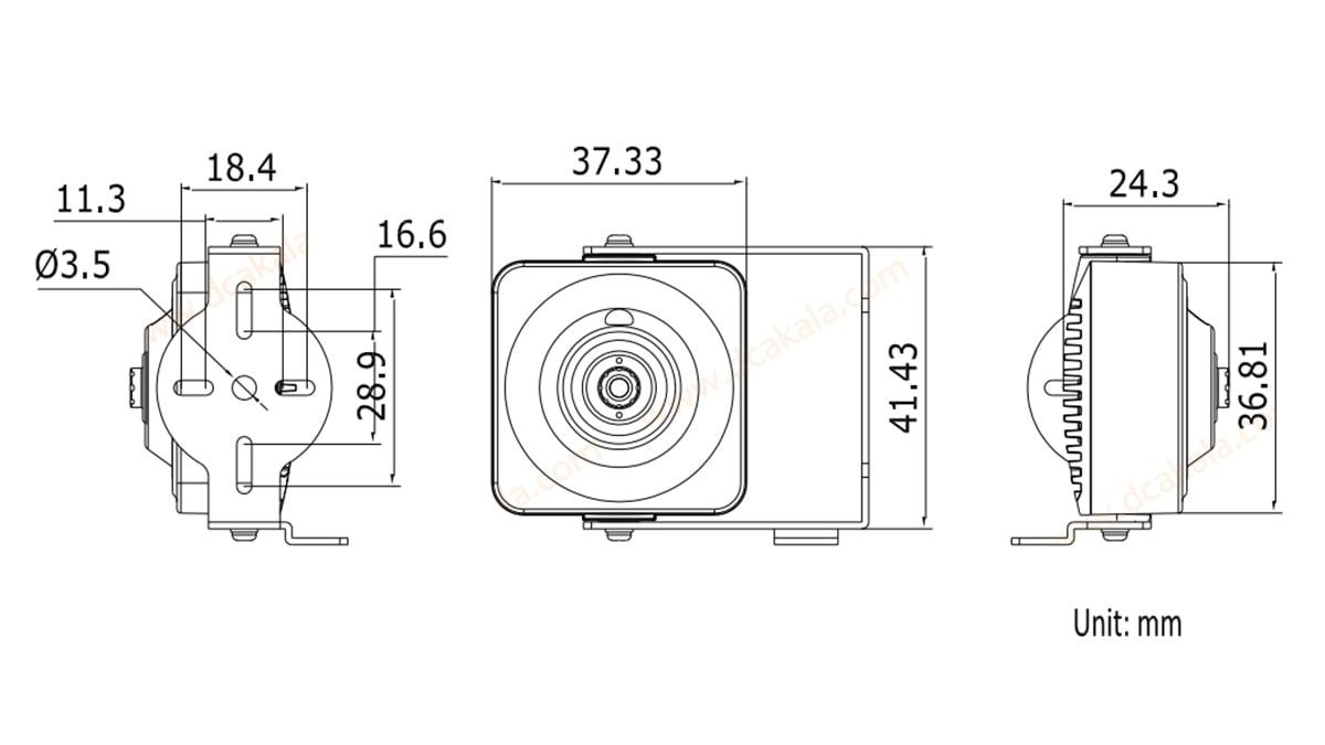 دوربین مدار بسته IP هایک ویژن DS-2CD2D14WD