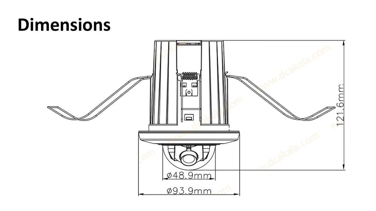 دوربین مدار بسته IP هایک ویژن مدل DS-2CD2E20F-W