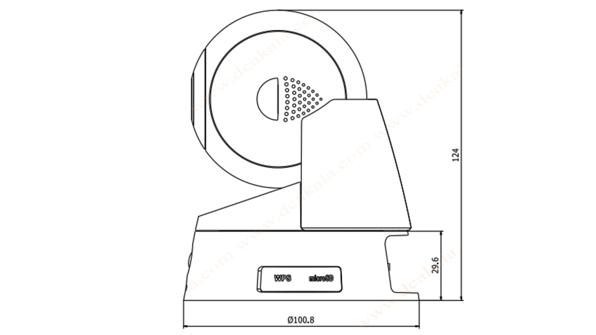 دوربین مدار بسته IP هایک ویژن مدل DS-2CD2Q10FD-IW