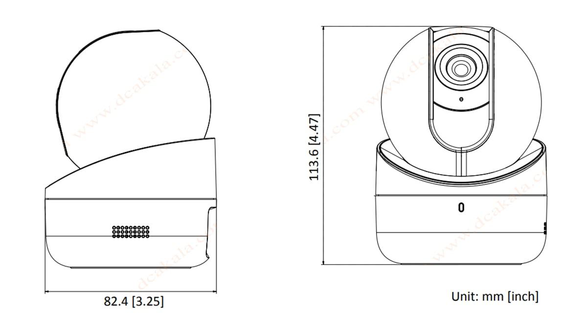 دوربین مدار بسته IP هایک ویژن مدل DS-2CV2Q21FD-IW