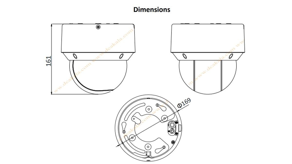 دوربین مدار بسته IP هایک ویژن مدل DS-2DE4A220IW-DE