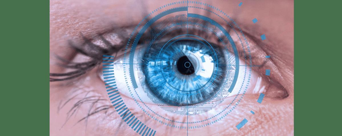 شناسایی عنبیه چشم اکسس کنترل