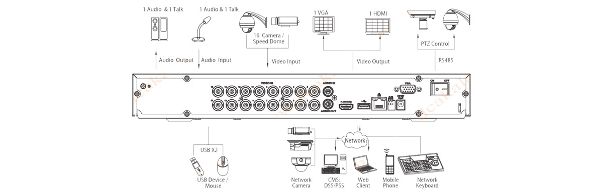ضبط کننده تصویر داهوا