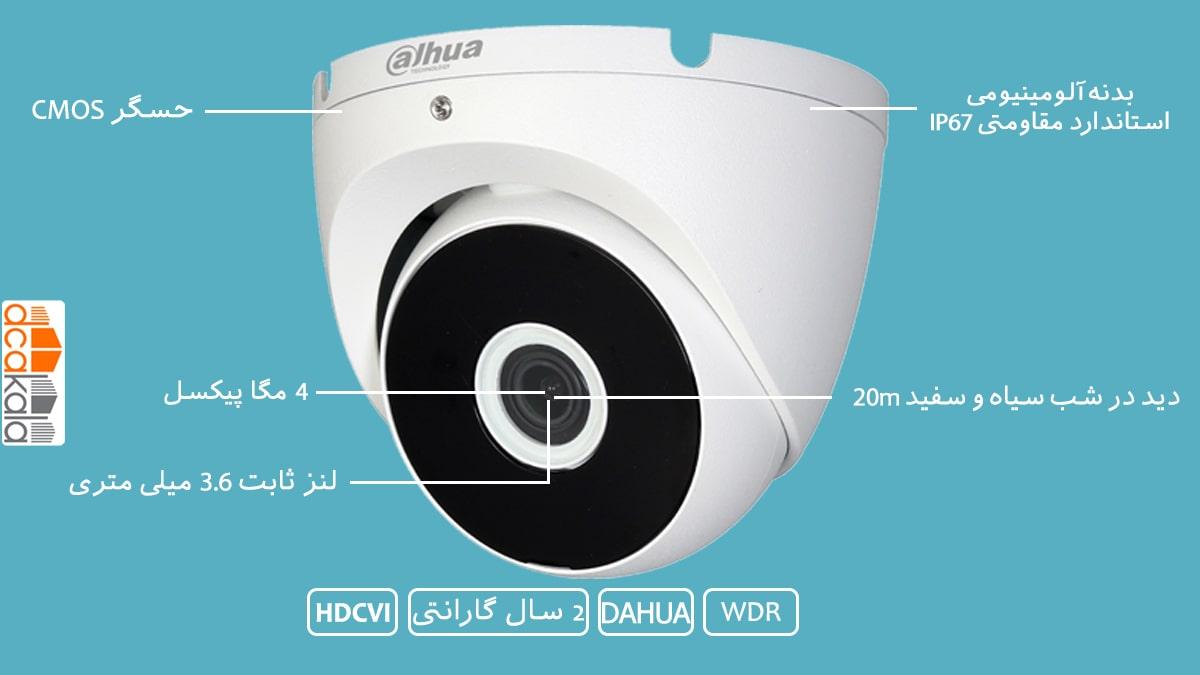 اینفو گرافی دوربین مدار بسته داهوا مدل  DH-HAC-T2A41