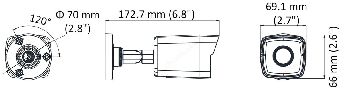 دوربین مدار بسته تحت شبکه هایلوک