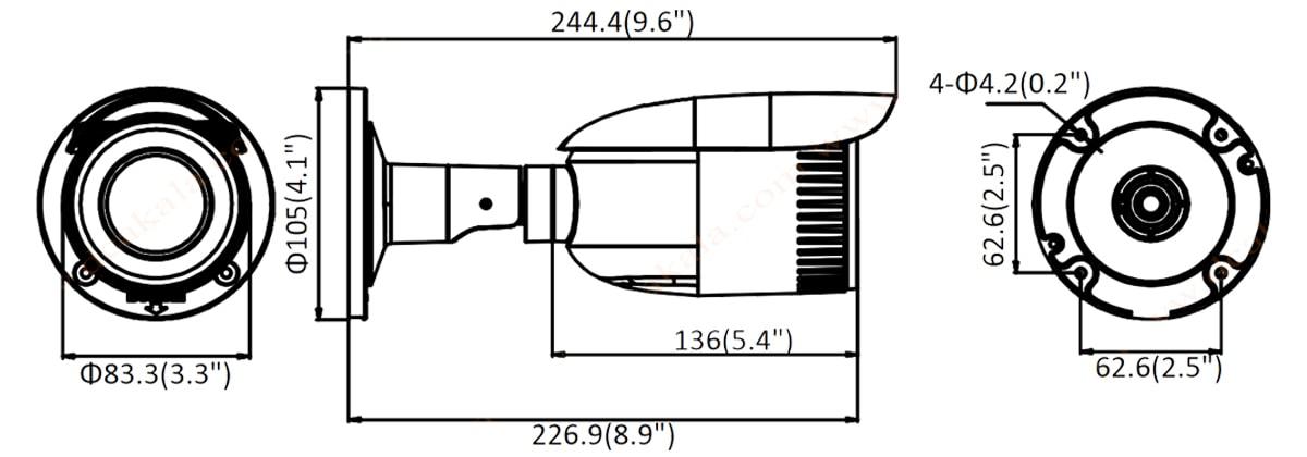 دوربین مدار بسته تحت شبکه هایلوک IPC-B620-Z