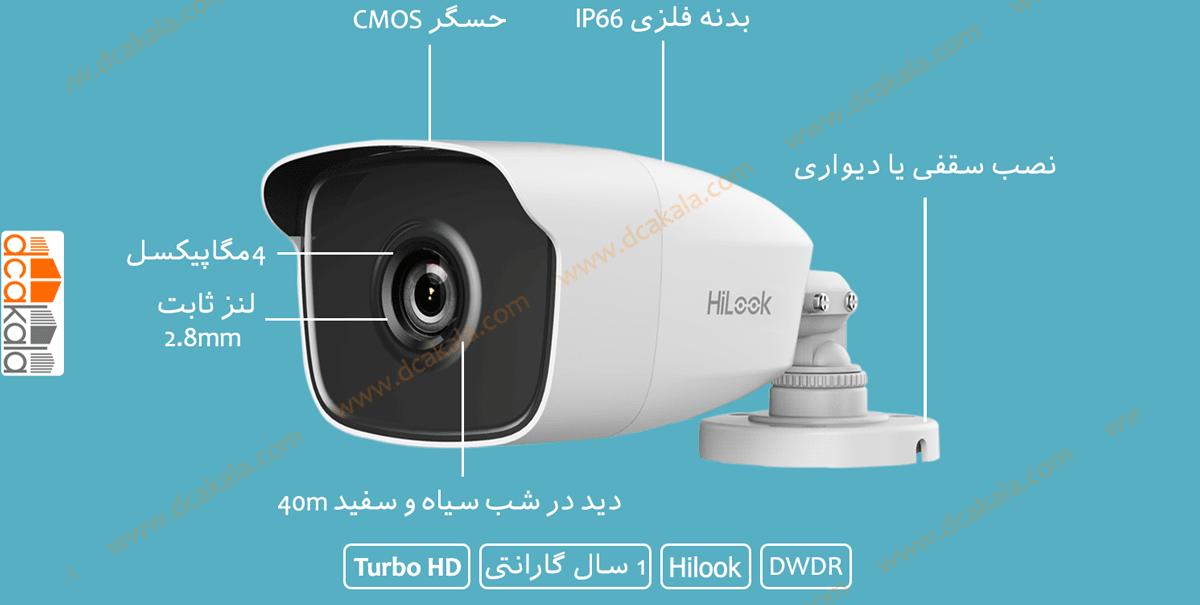 اینفوگرافی دوربین مداربسته توربو اچ دی هایلوک THC-B240
