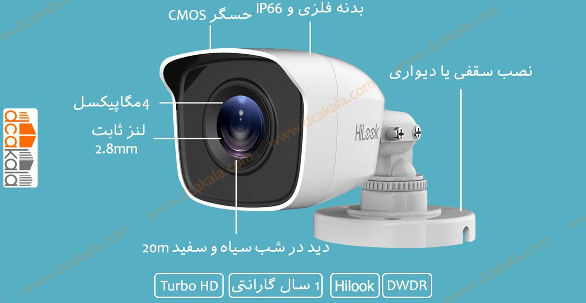 اینفوگرافی دوربین مداربسته توربو اچ دی هایلوک THC-B140-M