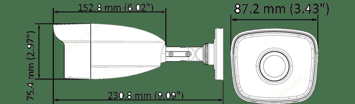 دوربین مداربسته توربو اچ دی هایلوک THC-B220-M