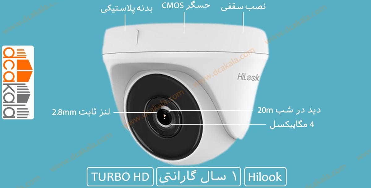 اینفوگرافی دوربین مداربسته هایلوک THC-T140-P