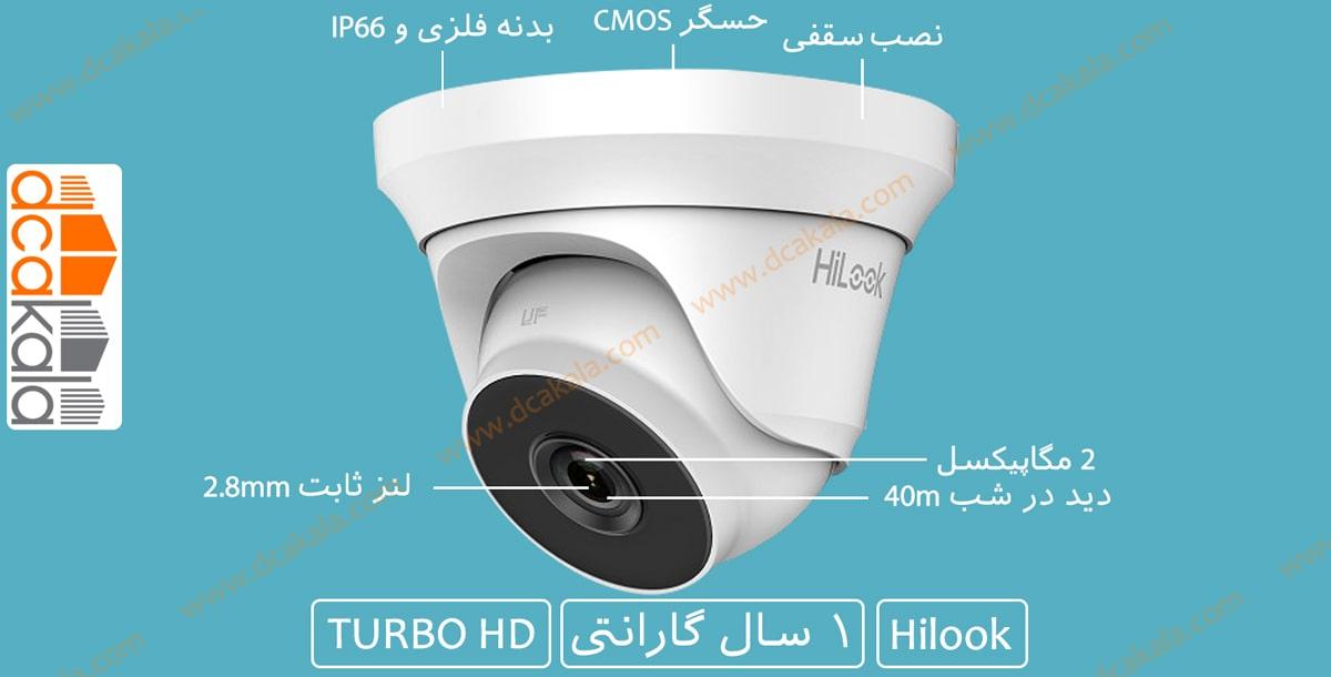 اینفوگرافی دوربین مدار بسته توربو اچ دی هایلوک THC-T220-M