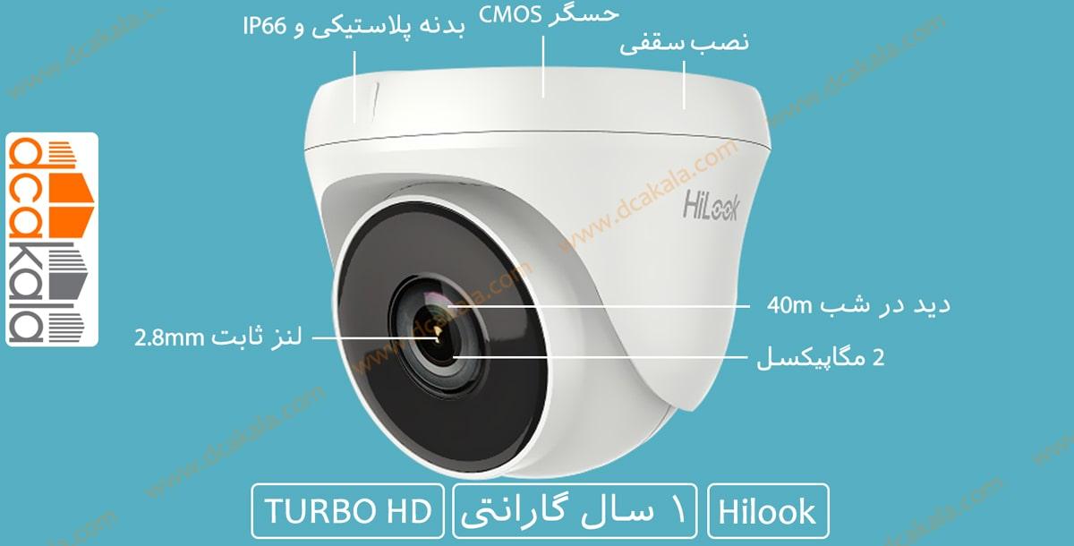 اینفو گرافی دوربین مدار بسته توربو اچ دی هایلوک THC-T220-P