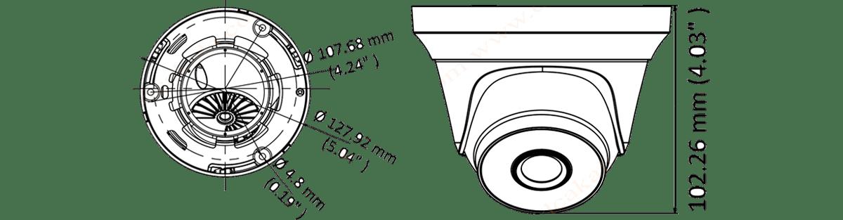 دوربین مداربسته توربو اچ دی هایلوک THC-T240-M