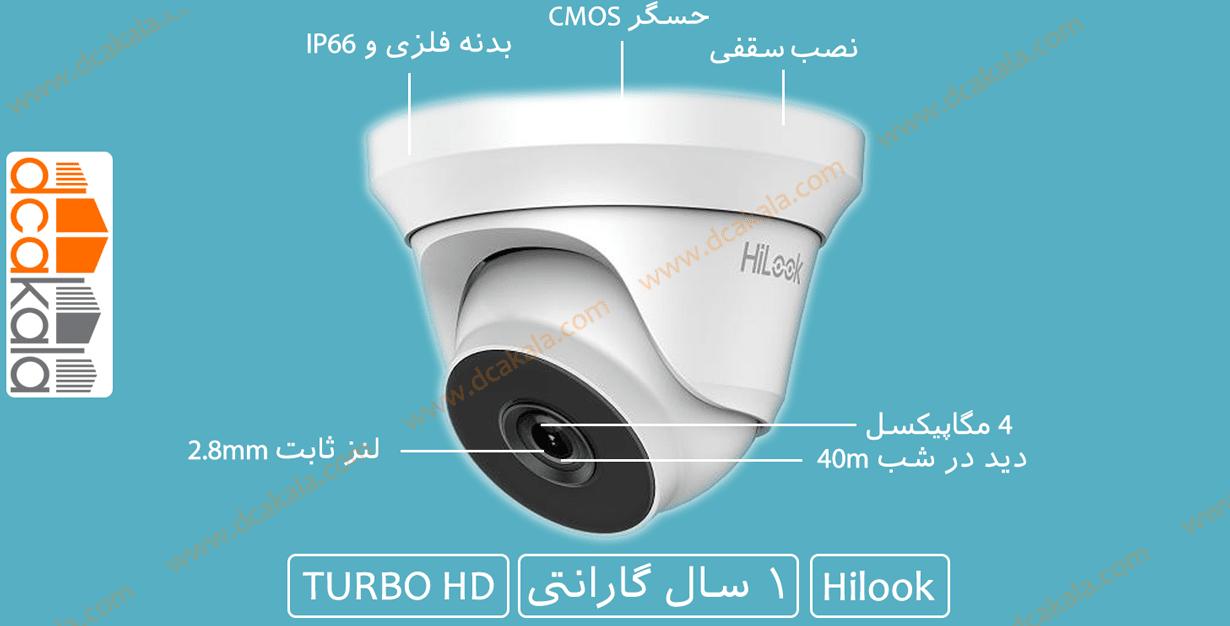 اینفوگرافی دوربین مداربسته هایلوک THC-T240-M