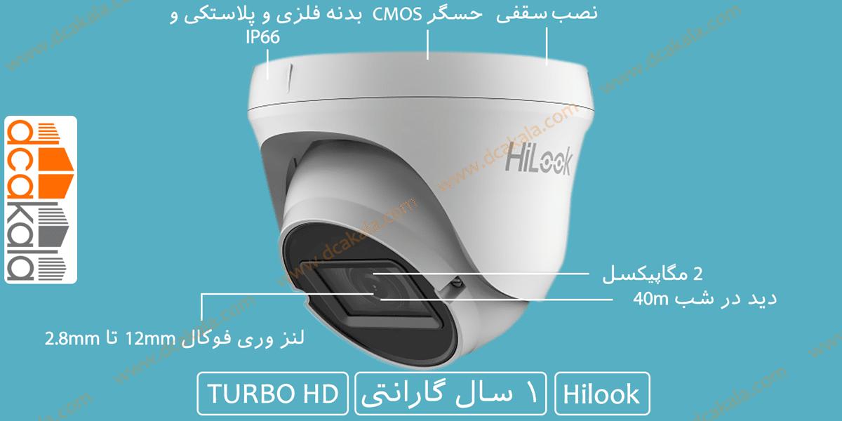 اینفوگرافی دوربین مداربسته هایلوک مدل THC-T320-VF