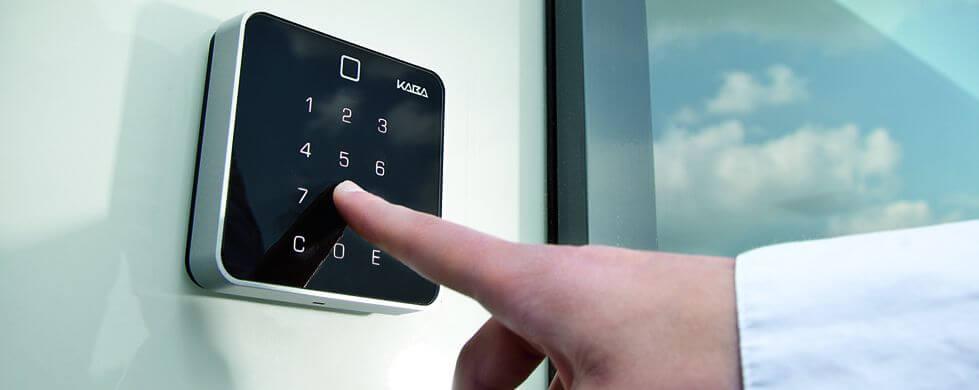 اکسس کنترل درب شیشه ای