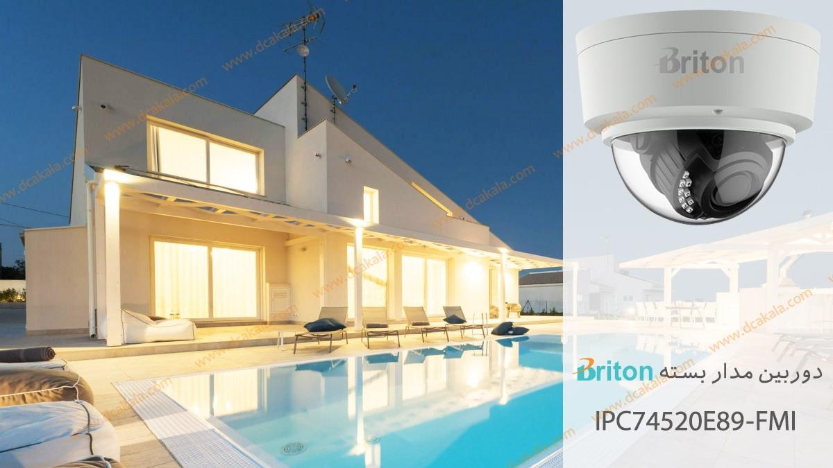 دوربین مدار بسته تحت شبکه برایتون مدل IPC74520E89-FMI