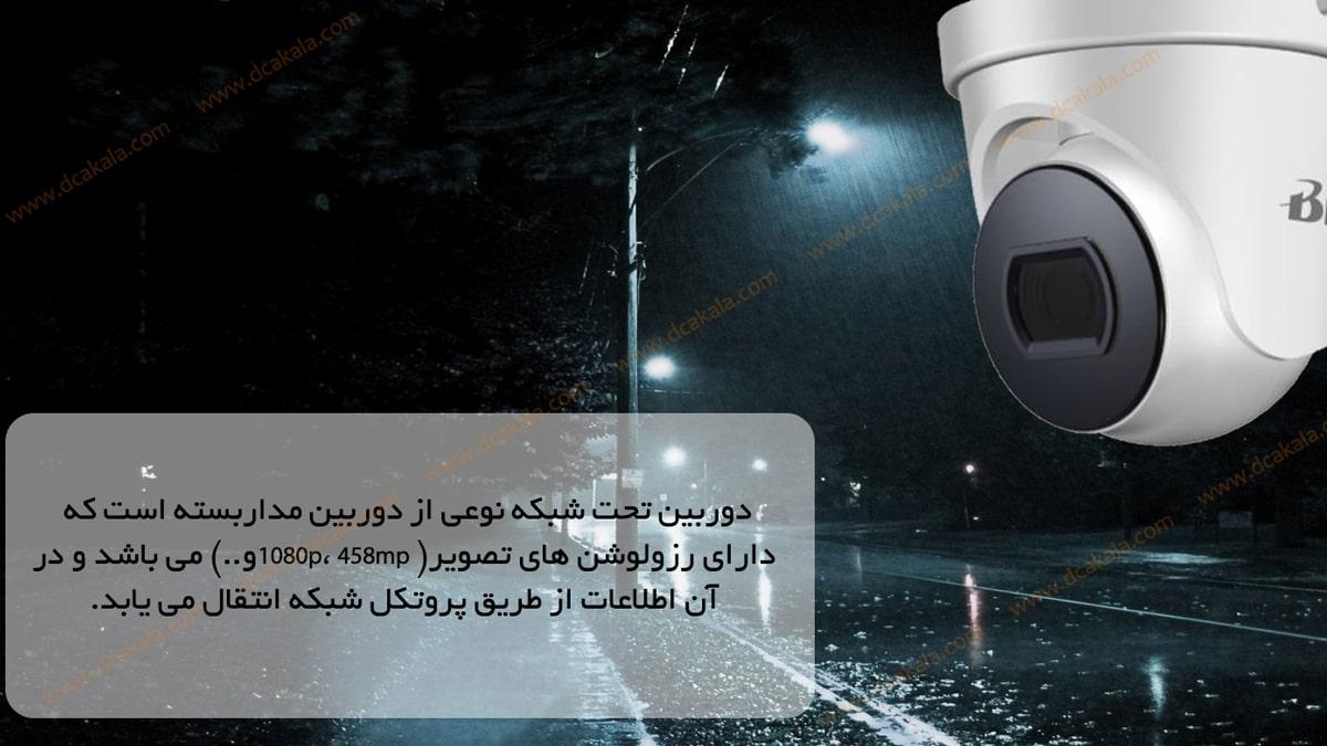 دوربین مدار بسته IP برایتون