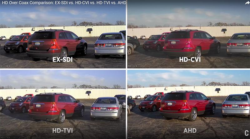 مقایسه تکنولوژی داهوا با سایر دوربین ها