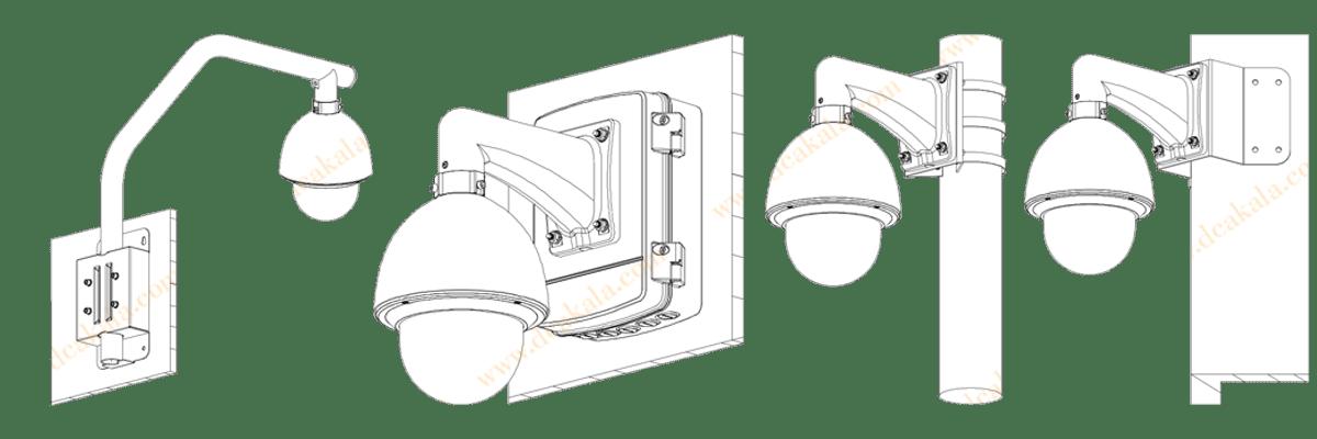 دوربین مداربسته تحت شبکه داهوا مدل  دوربین مداربسته داهوا 2 مگاپیکسل DH-SD60230T-HN